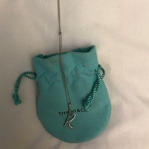"Tiffany ""k"" necklace"